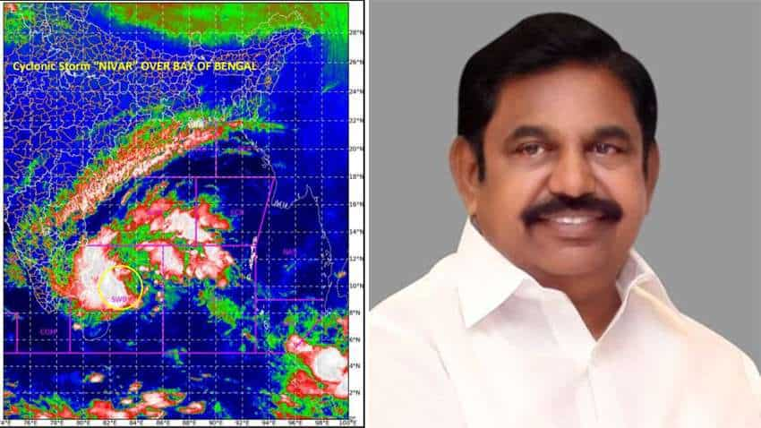 Cyclone Nivar: HOLIDAY! These offices to remain closed - Here is what Tamil Nadu CM Palaniswami said