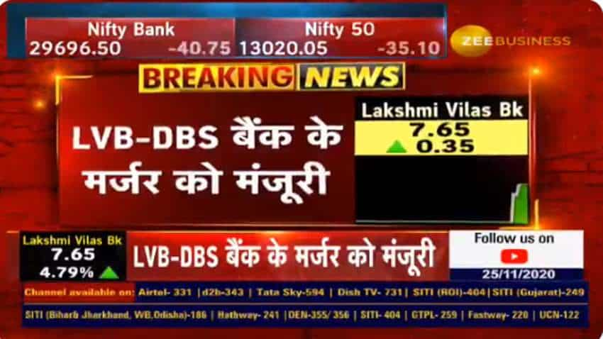 Lakshmi Vilas Bank merger with DBS Bank approved by Cabinet