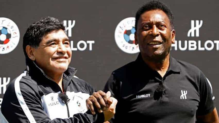 Brazil soccer icon Pele mourns passing of Argentine soccer great Diego Maradona