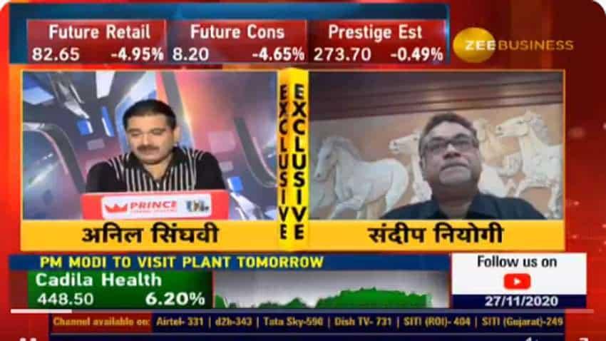 Exclusive: Granules India CFO Sandip Neogi tells Anil Singhvi - expect CAGR of 30 pct