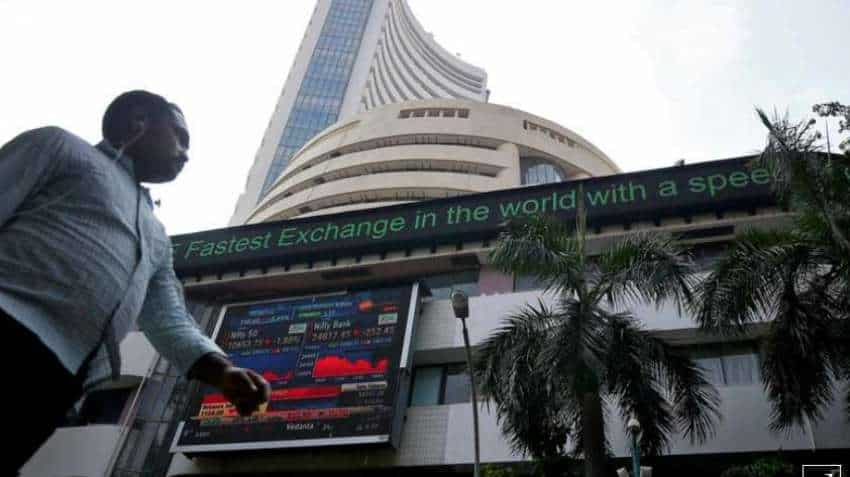 Markets hit record close: BSE Sensex gains 506 pts to 44655, NSE Nifty up 140 pts to 13,109! Indian Hotels PNC Infratech, Mahindra stocks in the news