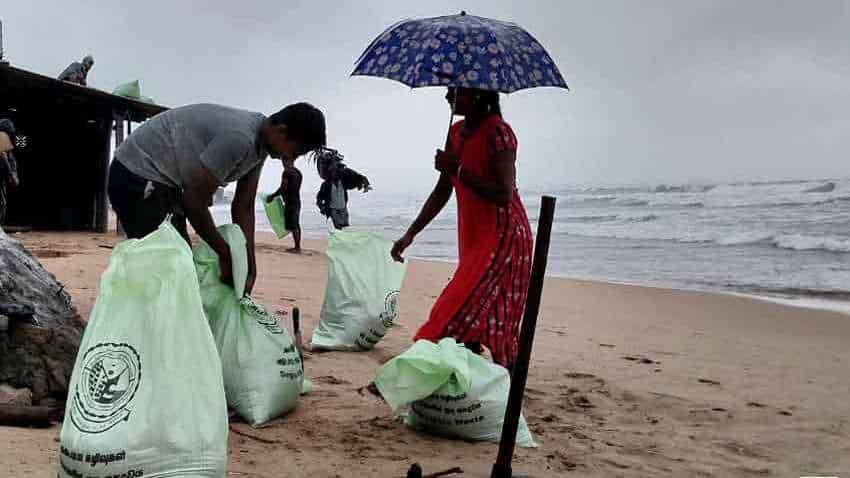 Cyclone Burevi latest news: RB Udayakumar visits coastal Rameswaram ahead of anticipated cyclonic storm