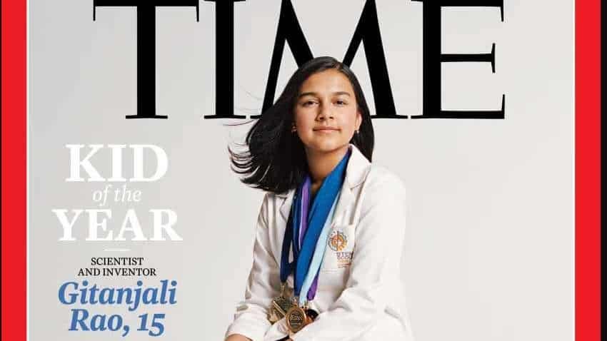 Colorado teen Gitanjali Rao is TIME ''Kid of the Year''