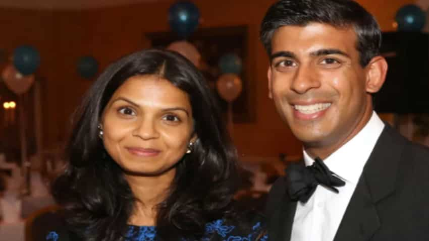 Rishi Sunak wife, Akshata Murthy is richer than the Queen of England; she is daughter of Infosys co-founder Narayan Murthy