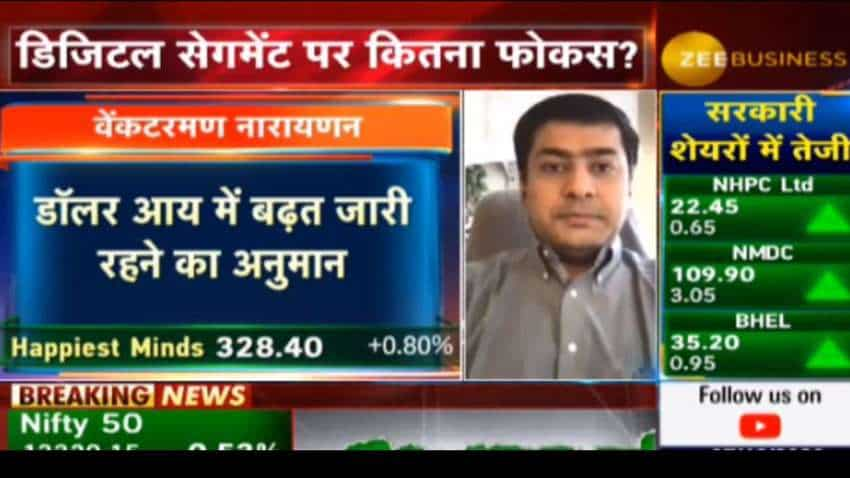 Happiest Minds likely to post same performance in Q3 & Q4: Venkatraman Narayanan, MD & CFO