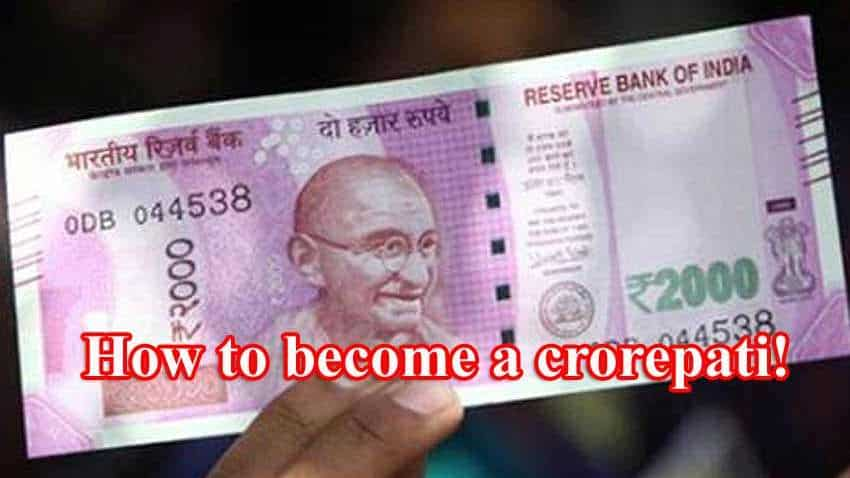 How to become a crorepati fast enough: Accumulate Rs 2 crore; expert provides top tips