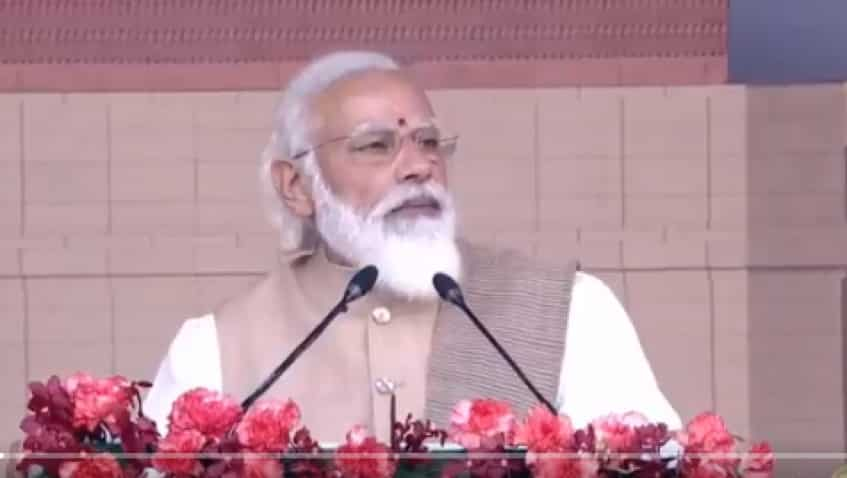 Narendra Modi in Gujarat: PM to lay foundation stone of world's largest hybrid renewable energy park today