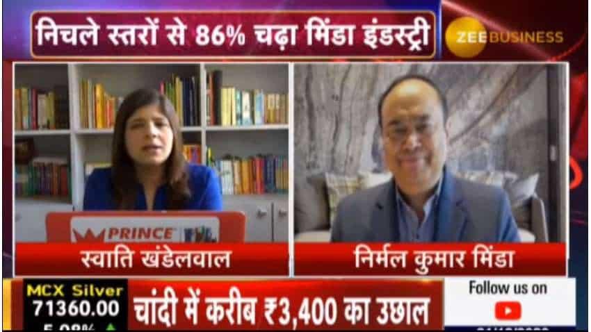 Minda Industries likely to grow at 8–10% annually: Nirmal Kumar Minda, CMD