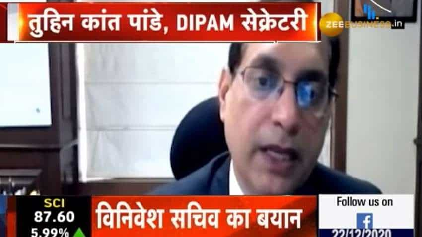 We will invite EoI for CONCOR after some time: Tuhin Kanta Pandey, Secretary, DIPAM