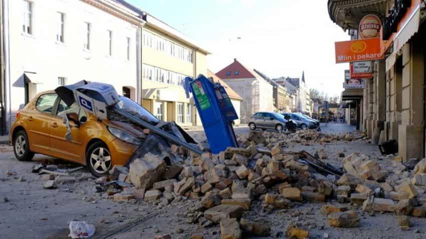 Croatia Earthquake Today 5 Dead As 6 4 Magnitude Quake Hits Petrinja Zagreb Shaken Too People In Panic Mayor Says Like Hiroshima Zee Business