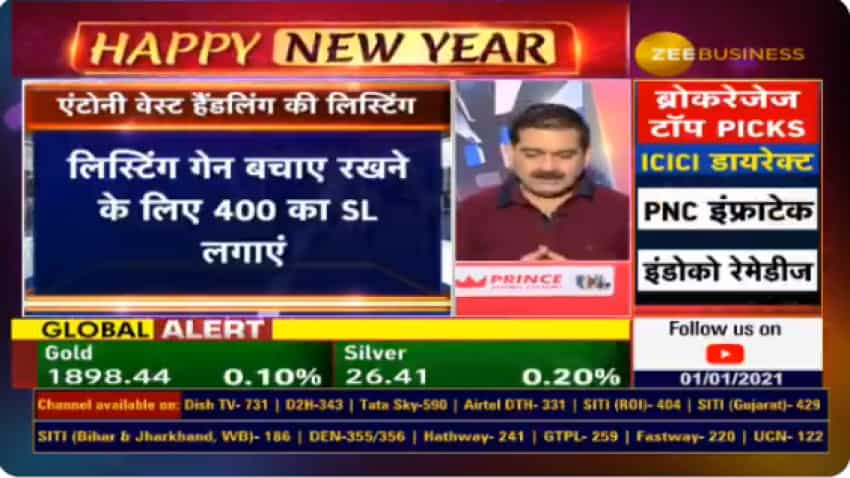Antony Waste Handling listing: Anil Singhvi recommendation is spot-on! Market Guru reveals trading strategy on this stock too