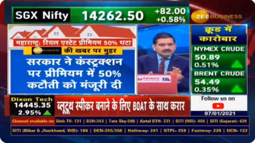 Anil Singhvi Decoder on Maharashtra Realty: Will 50 pct cut in premium to bring windfall GAINS for HOME BUYERS? Know here