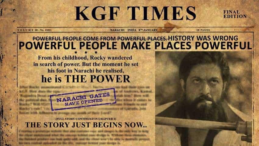 KGF 2 teaser creates this massive YouTube record! Big achievement for Rocky Bhai Yash, Sanjay Dutt, Raveena Tandon starrer big-budget movie