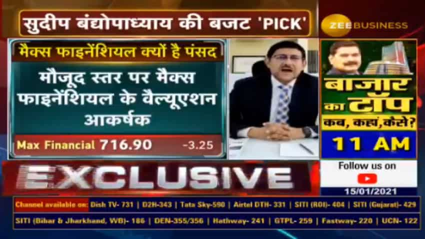 Budget Stock Picks With Anil Singhvi: This insurance company is market expert Sudip Bandyopadhyay's top pick