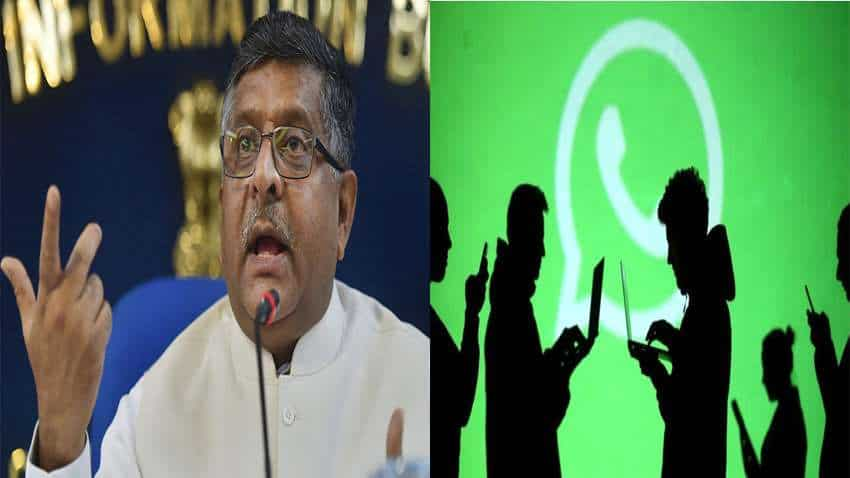 WhatsApp, other digital platforms free to do business in India but without compromising on sanctity of personal data: IT minister Prasad