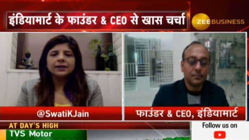 IndiaMART has a cash reserve of Rs 500 crore; it has plans to add up to 6000 customers per quarter: Dinesh Agarwal, Founder & CEO
