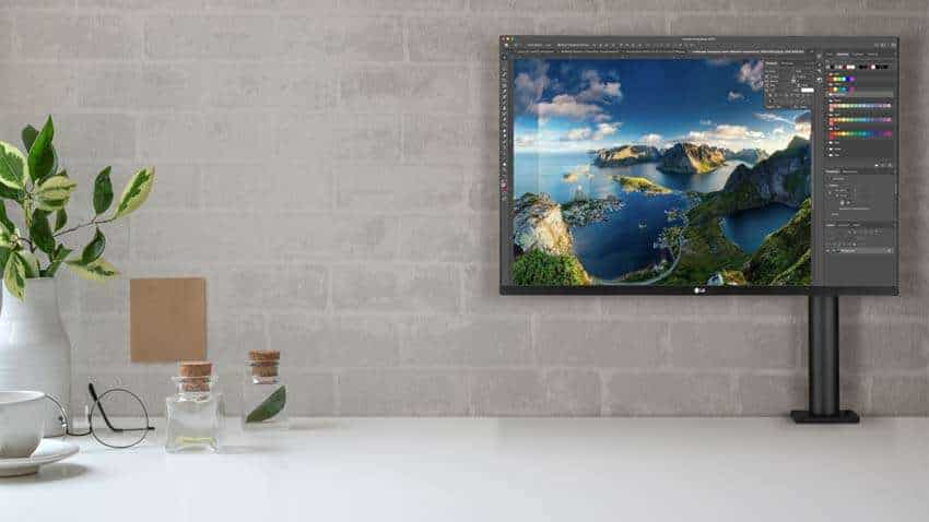 New LG Ergo 4K monitor with Ultrafine Display launched in India   Check price, features and other details here