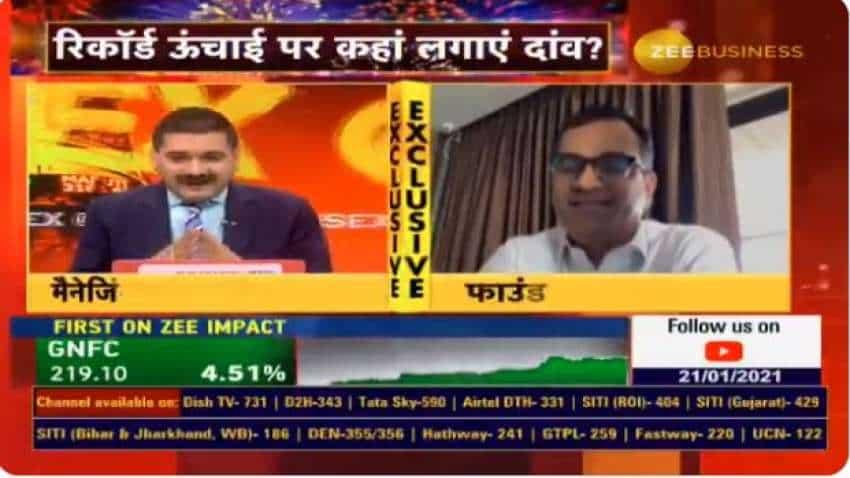Stock Markets With Anil Singhvi: Sensex soars to 50K; Madhu Kela reveals this money making strategy