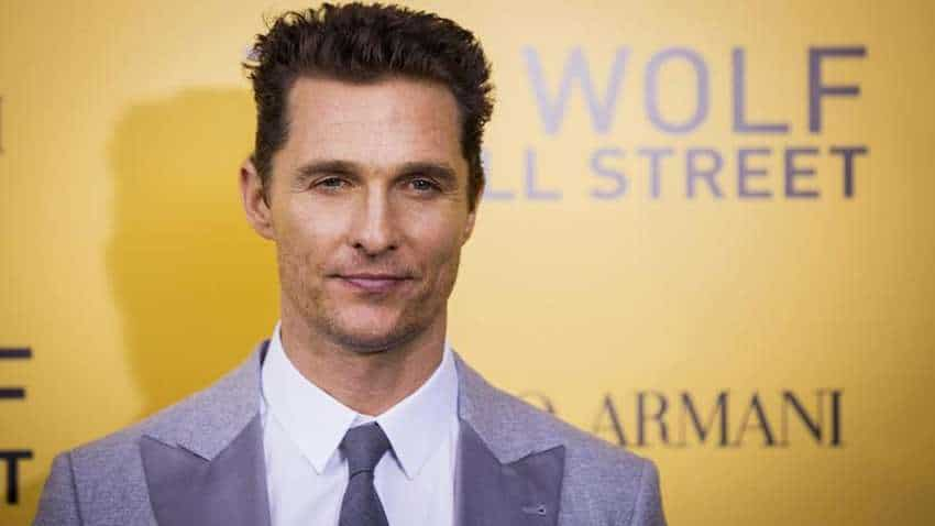 How actor Matthew McConaughey got over rom-com image trap