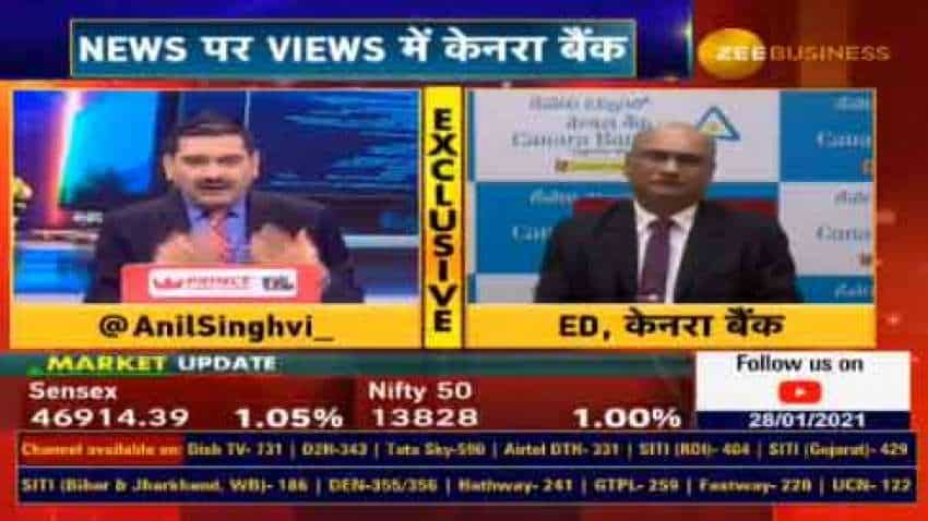 In chat with Anil Singhvi, Canara Bank ED Debashish Mukherjee says 6 to 8 per cent credit growth in Q4 expected