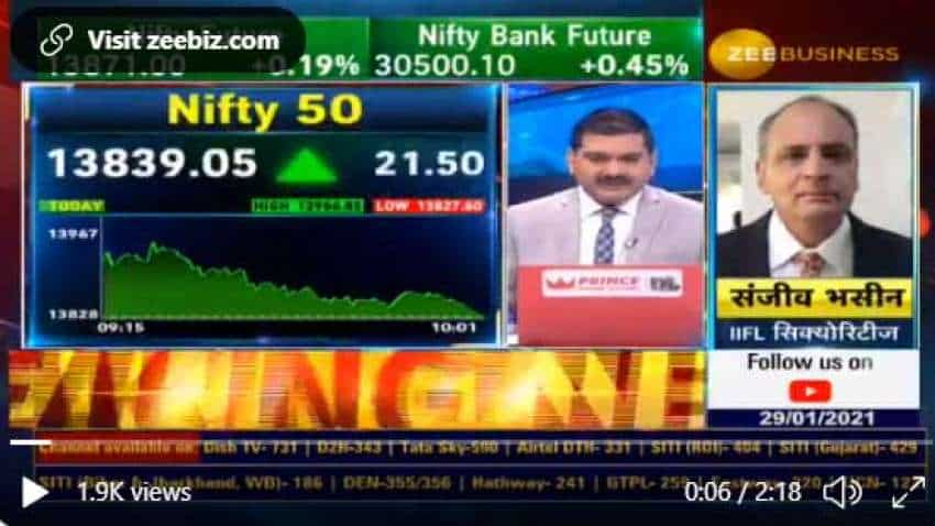 Stocks to buy with Anil Singhvi: Bajaj Finserv and HCL Tech are top Sanjiv Bhasin recommendations today