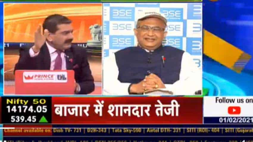 In chat with Anil Singhvi, Ashish Chauhan, BSE MD & CEO, says Budget 2021 is 'vision oriented'