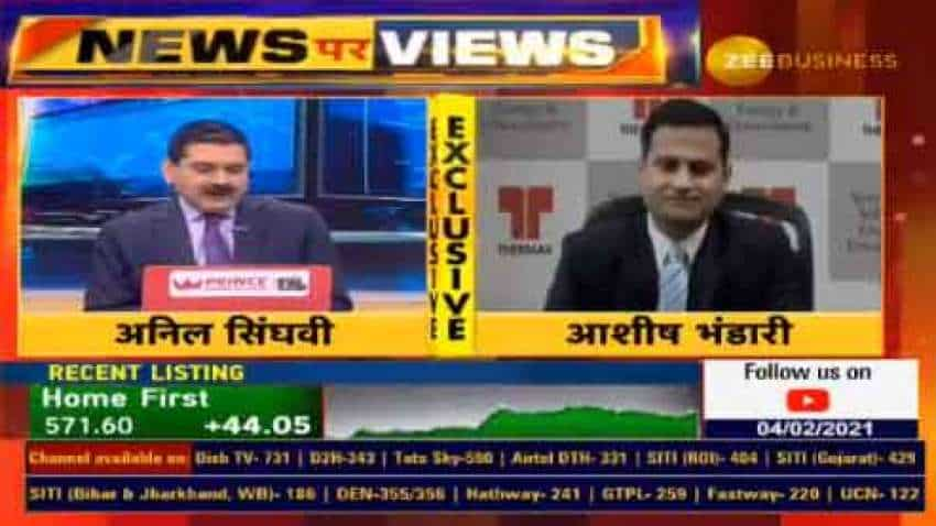 In chat with Anil Singhvi, Thermax MD and CEO Ashish Bhandari says company made V-shape recovery in the last quarter