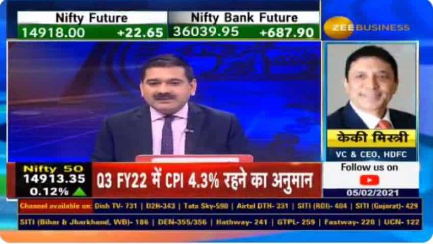 HDFC VC and CEO Keki Mistry, in chat with Anil Singhvi, reveals his views on Monetary policy announcements