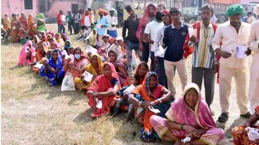 Polling for phase 1 of Gram Panchayat polls in Andhra Pradesh underway