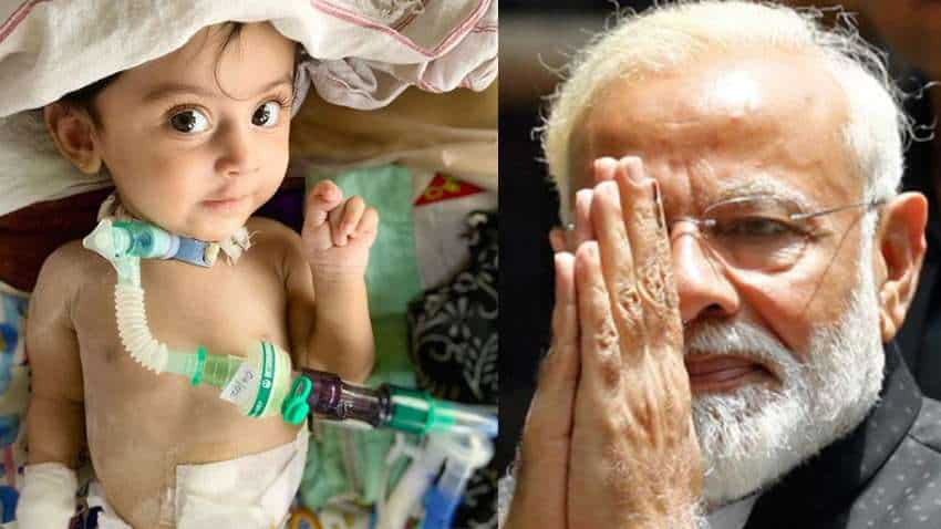 Rs 6 crore help! Modi government shows big heart for 5-month-old girl suffering from rare medical condition