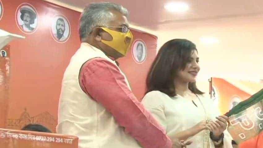 Bengali film actress Payel Sarkar joins BJP