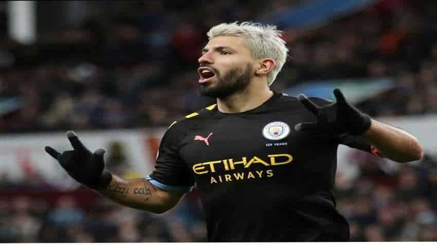 Aguero needs time to return to best form, says Manchester City boss Guardiola