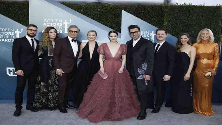 ''Schitt's Creek'' wins Golden Globe for Best TV Comedy Series