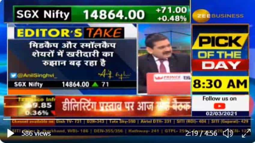 Anil Singhvi says markets will continue to remain volatile; closing above 15100 on Nifty will set stage for new highs