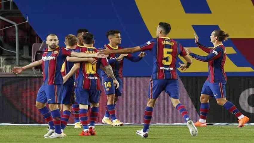 Barcelona reach Copa final with epic comeback win over Sevilla