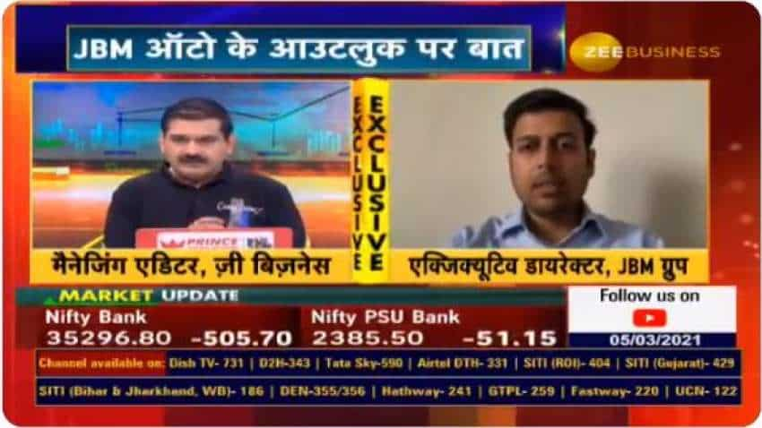 Exclusive: JBM Auto focusing on manufacturing electric buses, ED Nishant Arya tells Anil Singhvi; scrappage policy to benefit company, he says