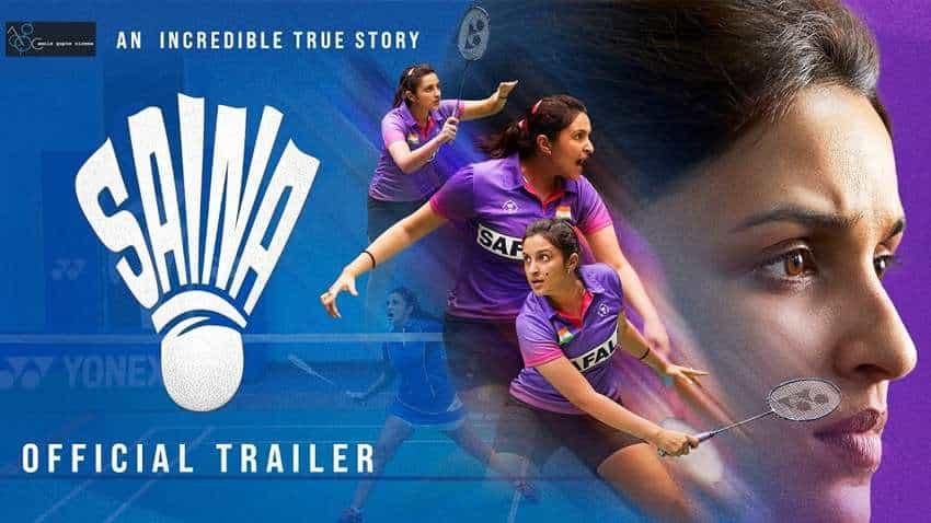 Saina Nehwal Biopic Movie Trailer: Super powerful! You will get goosebumps! WATCH - Parineeti Chopra impresses massively