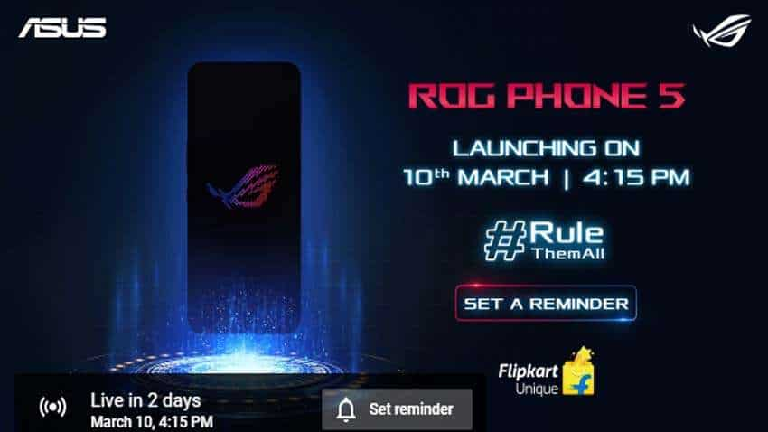 Asus ROG Phone 5 India launch live update: Check timings, how to watch live launch event and more!