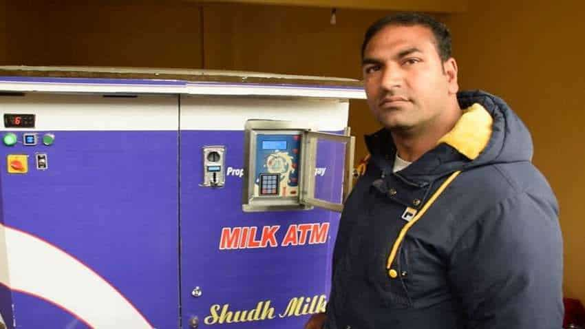 Pulwama in Kashmir gets first ''Milk ATM''
