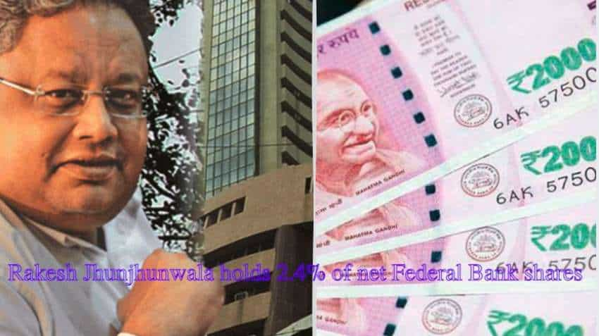 Rakesh Jhunjhunwala portfolio shares to buy today: Experts pick Federal Bank stock for over 75% gains - can rally 150%