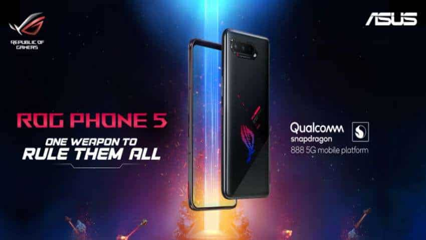 ASUS ROG Phone 5 series launched in India - Check price, features, specs, full details here
