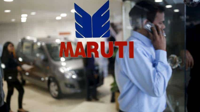 Maruti shares gain over 1 pct on Tuesday, close at Rs 7,185.25 on BSE