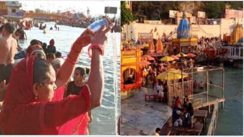Haridwar Kumbh Mela 2021: Gathering starts today—check dates of shahi snan, ganga snan, Covid 19 guidelines and more
