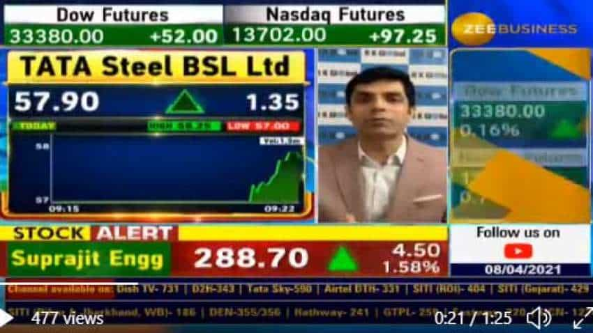 Special Pick With Anil Singhvi: Tata Steel BSL under spotlight - Rakesh Bansal and Kunal Saraogi are bullish on this stock; know why