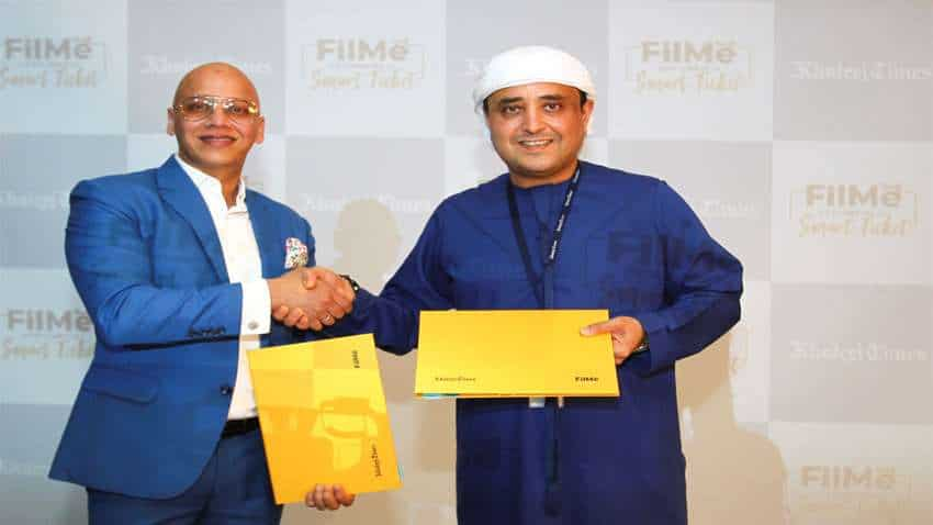 Media giant Khaleej Times enters into entertainment business with its deal with innovative platform FilMe