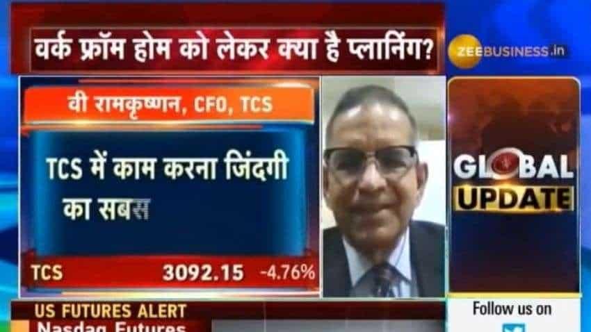 TCS emphasizes on providing technological solutions to its customers: V Ramakrishnan, CFO