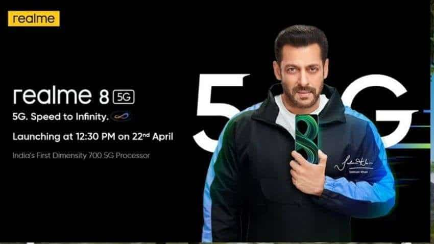 Realme 8 5G India launch date set for April 22: Check expected price, specifications and more