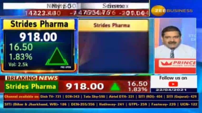 Anil Singhvi picks Strides Pharma as his 'SIP STOCK' today, know the reason WHY