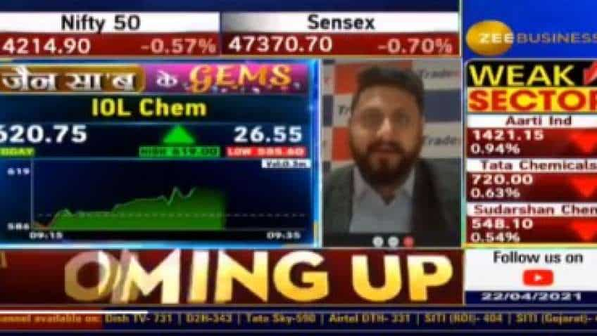 In chat with Anil Singhvi, Sandeep Jain picks IOL Chemical and Pharmaceutical for bumper returns