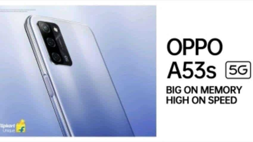 Oppo A53s 5G smartphone launched in India at starting price of Rs 14,990 - Check offers, camera, specifications, and more